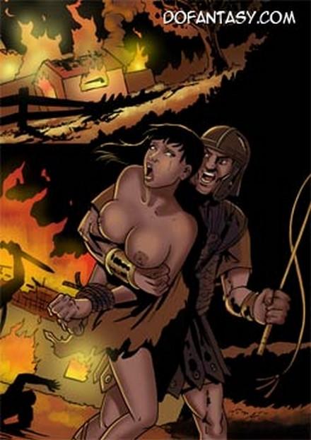Порно рим комиксы