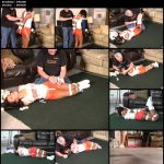 Drea hogtied hooters girl custom 1