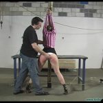 Eden Legs spread spanked and Crotchroped Part 1