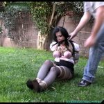 Backyard Bondage Fun with Sybil Hawthorne Part 2