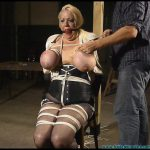 Local Busty Dominatrix Castratta is Bound Manhandled and Gagged Part 2