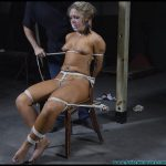 Punishing Nude Chair Tie for Adara Part 2