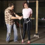 Polly Strict Hogtie Part 1