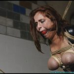 Ashley Graham Superheroines Revenge Gone Awry 2 Table Tied and Tits Tied