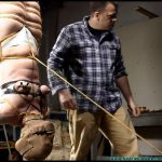 Fayth Inverted clamped spanked strapped hooded and more Part 4
